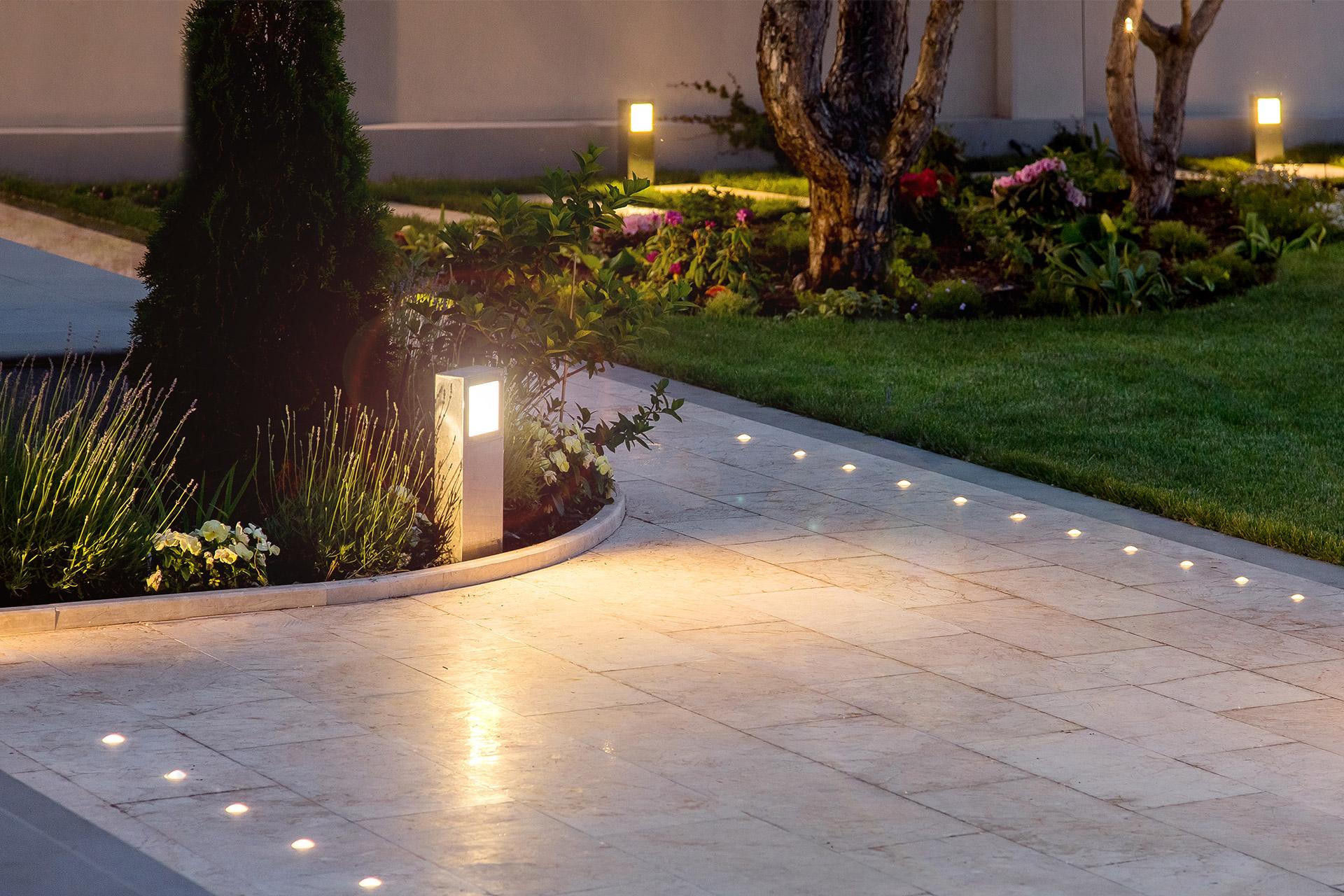 Tuinverlichting - V&V Groenservice